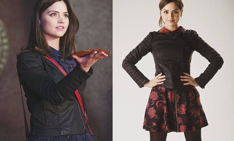 Clara Oswald's All Saints Axelle Jacket as worn in Rings of Akhaten, Nightmare in Silver and Doctor Who at the Proms