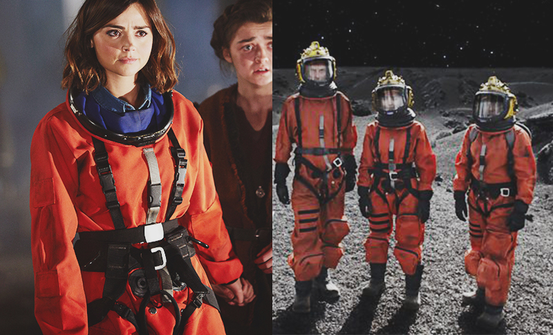 Clara Oswald's Custom Made Spacesuit as seen in Kill The Moon and The Girl Who Died
