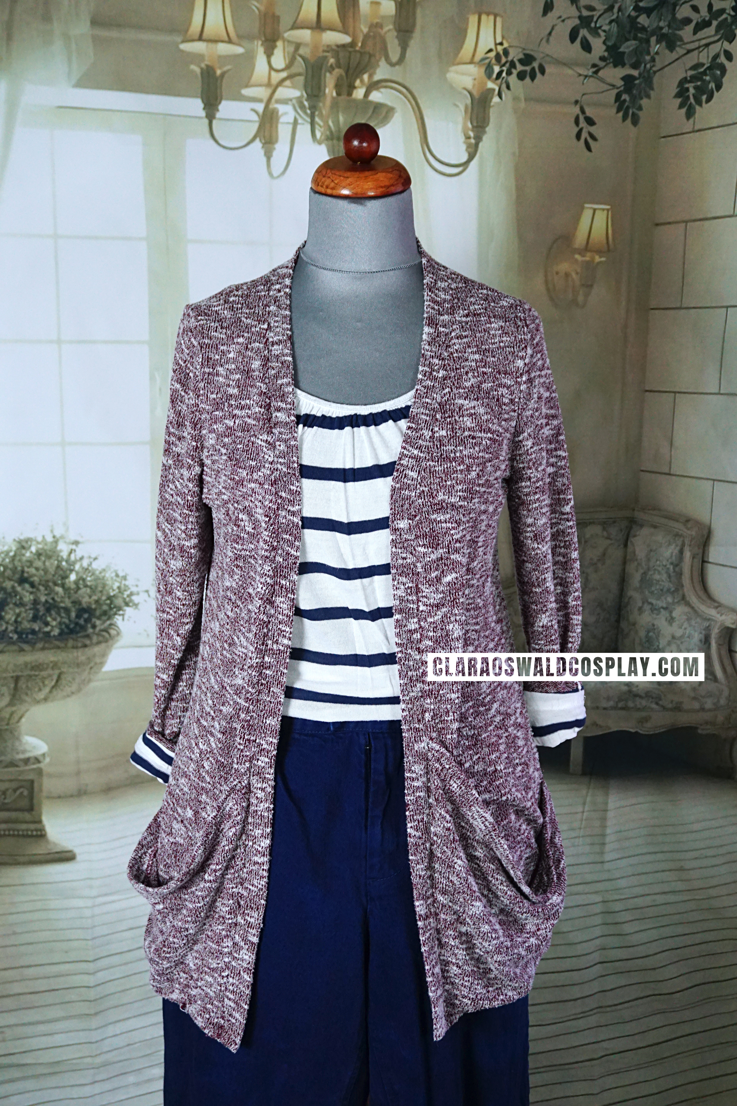 The pink version of the Urban Outfitters Sparkle & Fade Cardigan featured in Dark Water
