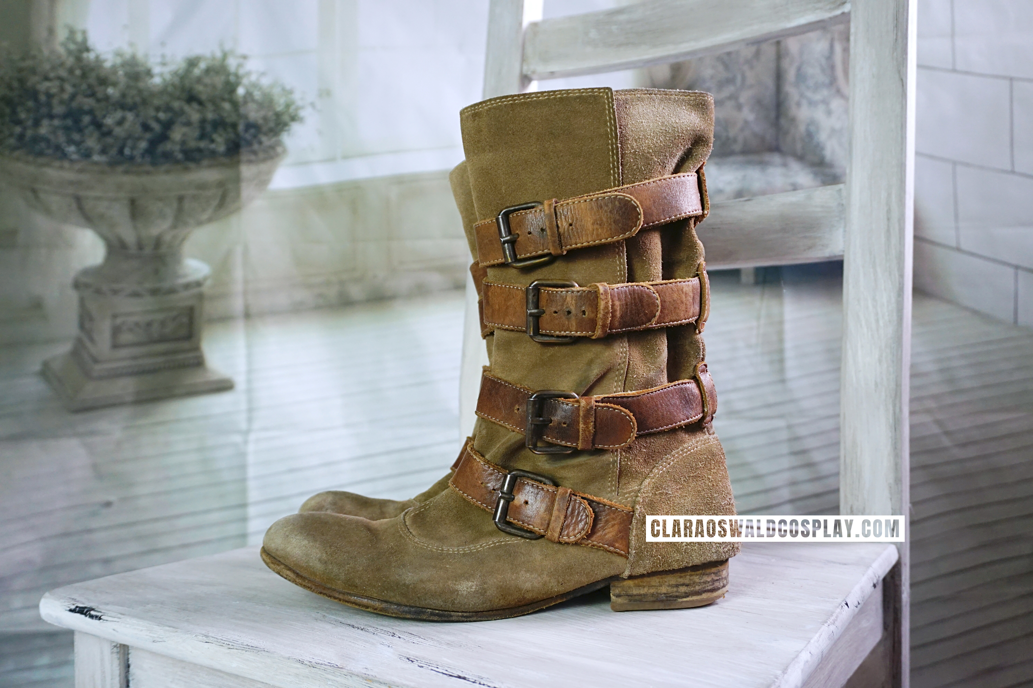 Clara Oswald's H by Hudson Keira Boots (alt colour) as worn in The Girl Who Died