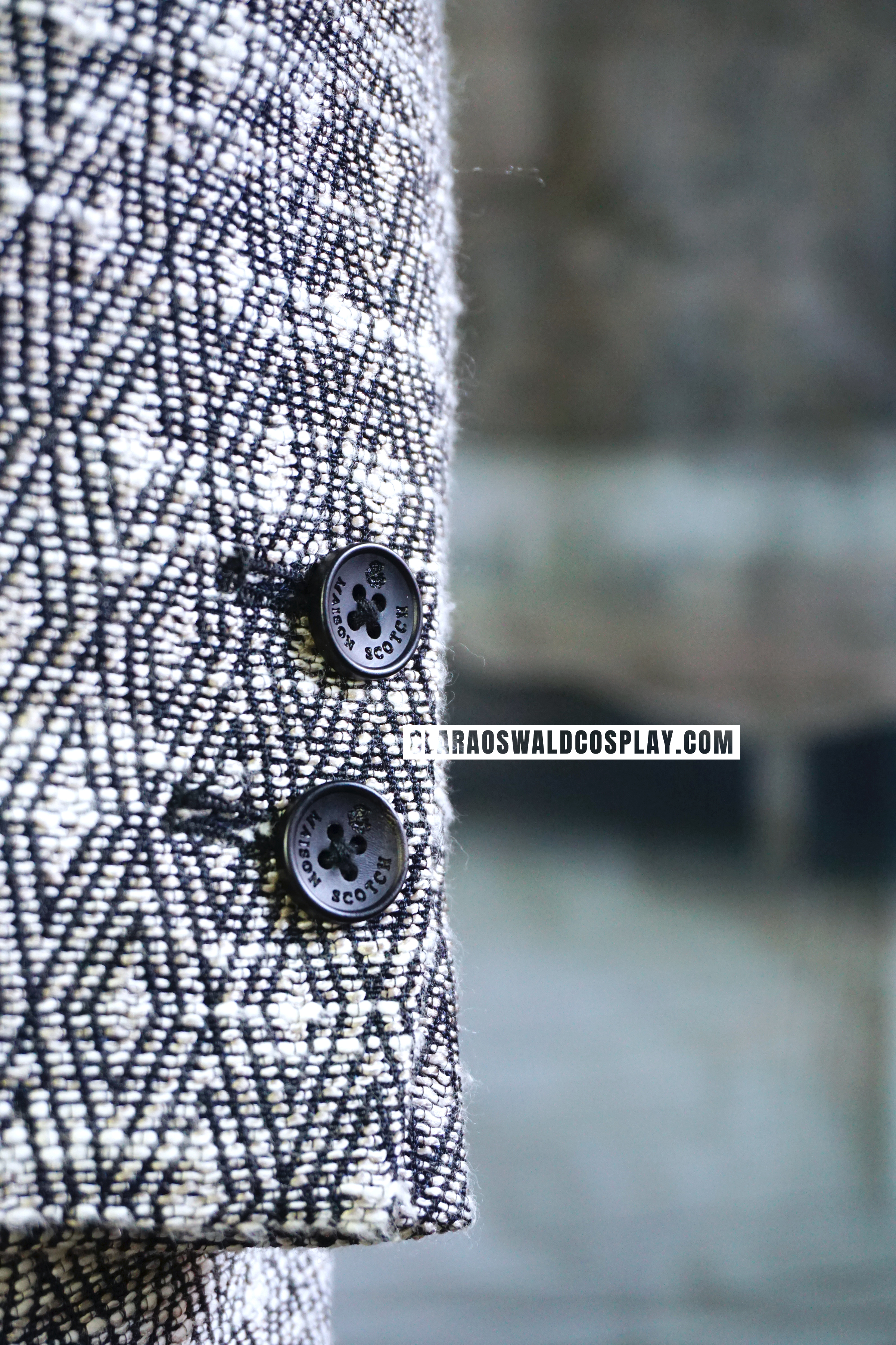 Detailed picture of the buttons