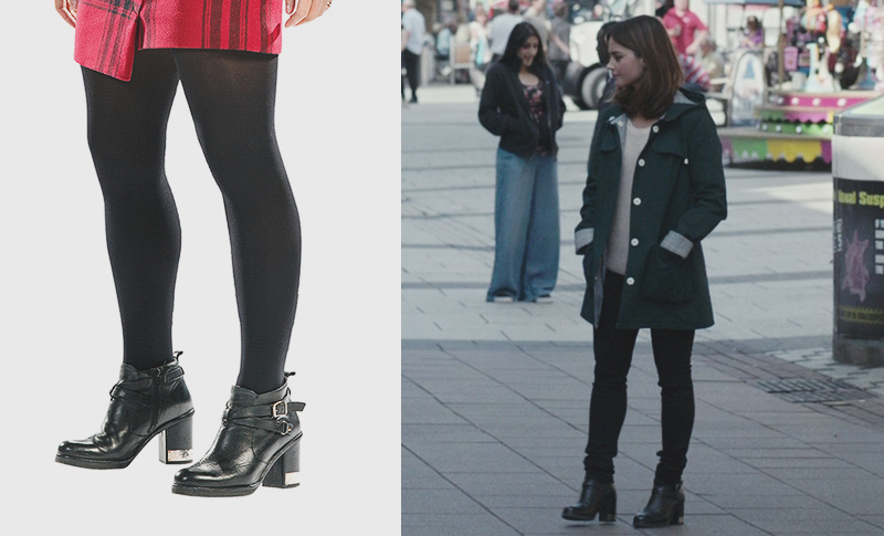 Topshop All Mine Boots worn by Clara Oswald in Time of the Doctor, Deep Breath, The Caretaker and Death in Heaven