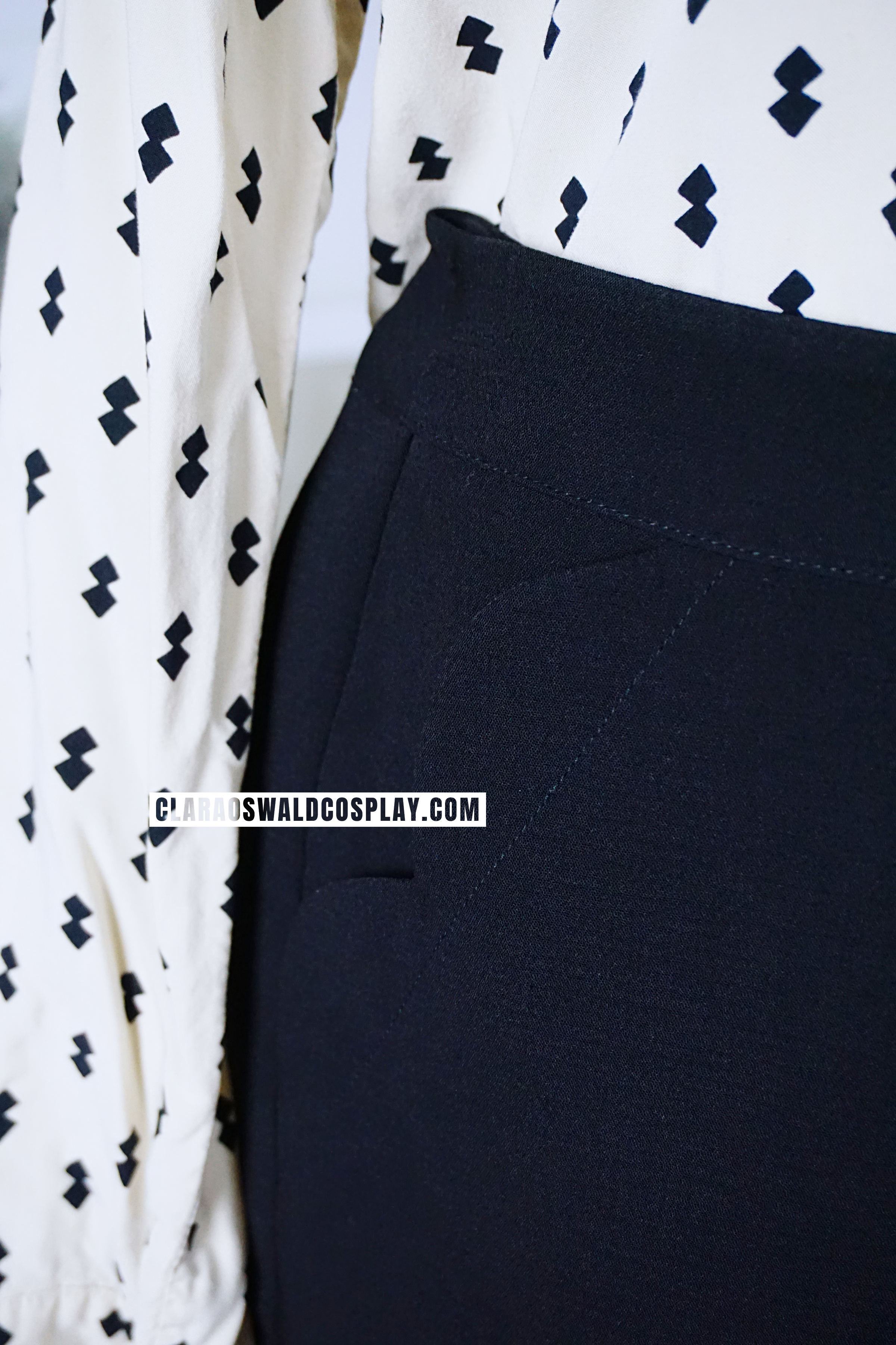 The Topshop Scallop Shorts have functioning pockets