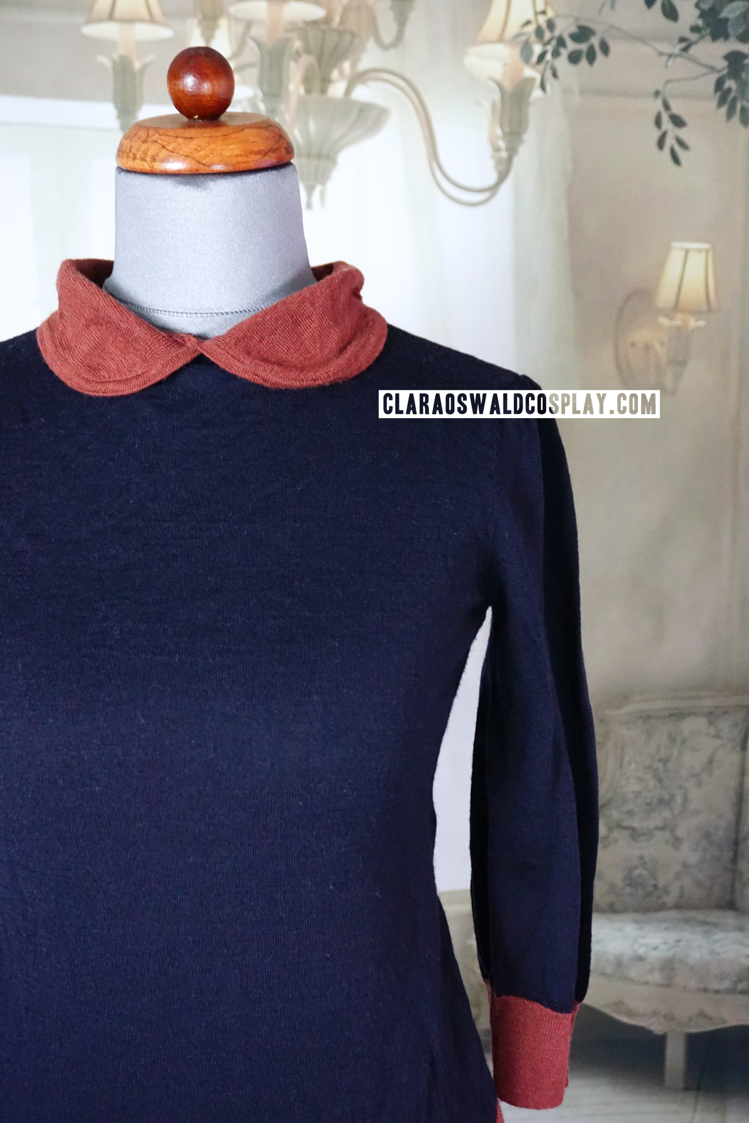A closer look at the collar