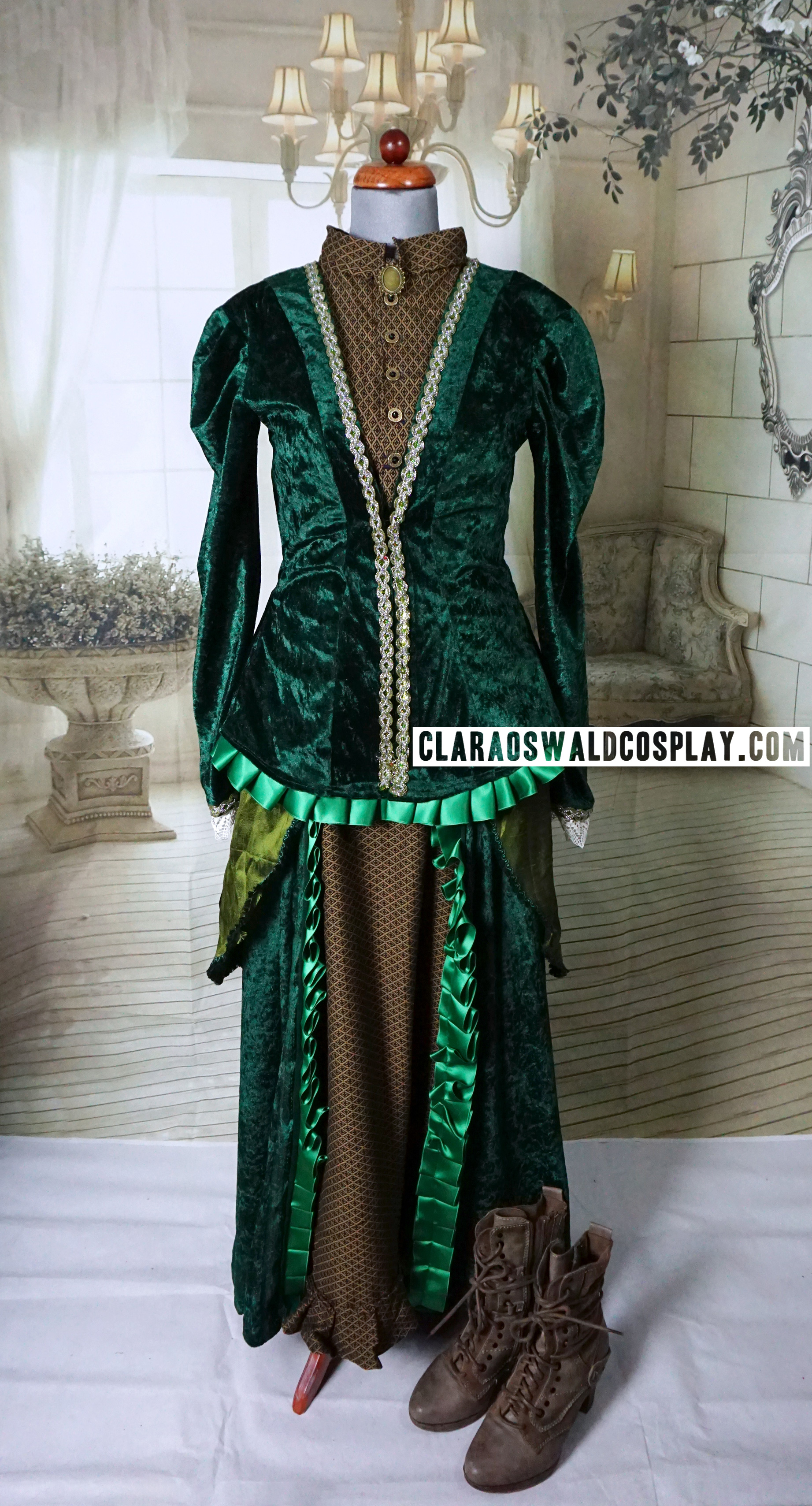 My version of Clara Oswald's custom made Victorian Dress that she wore in Deep Breath