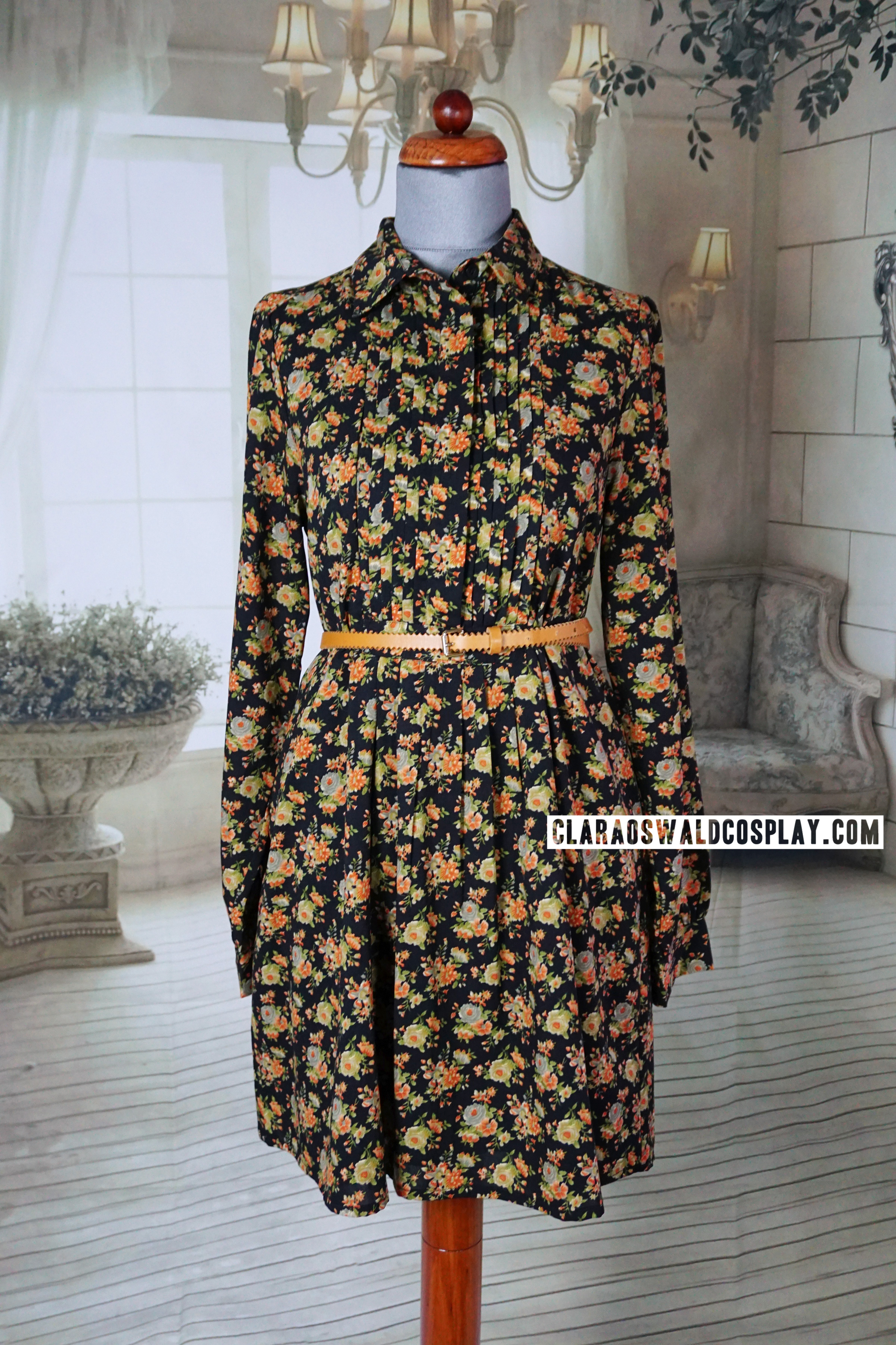 Clara Oswald's ASOS Floral Dress as seen in Kill the Moon