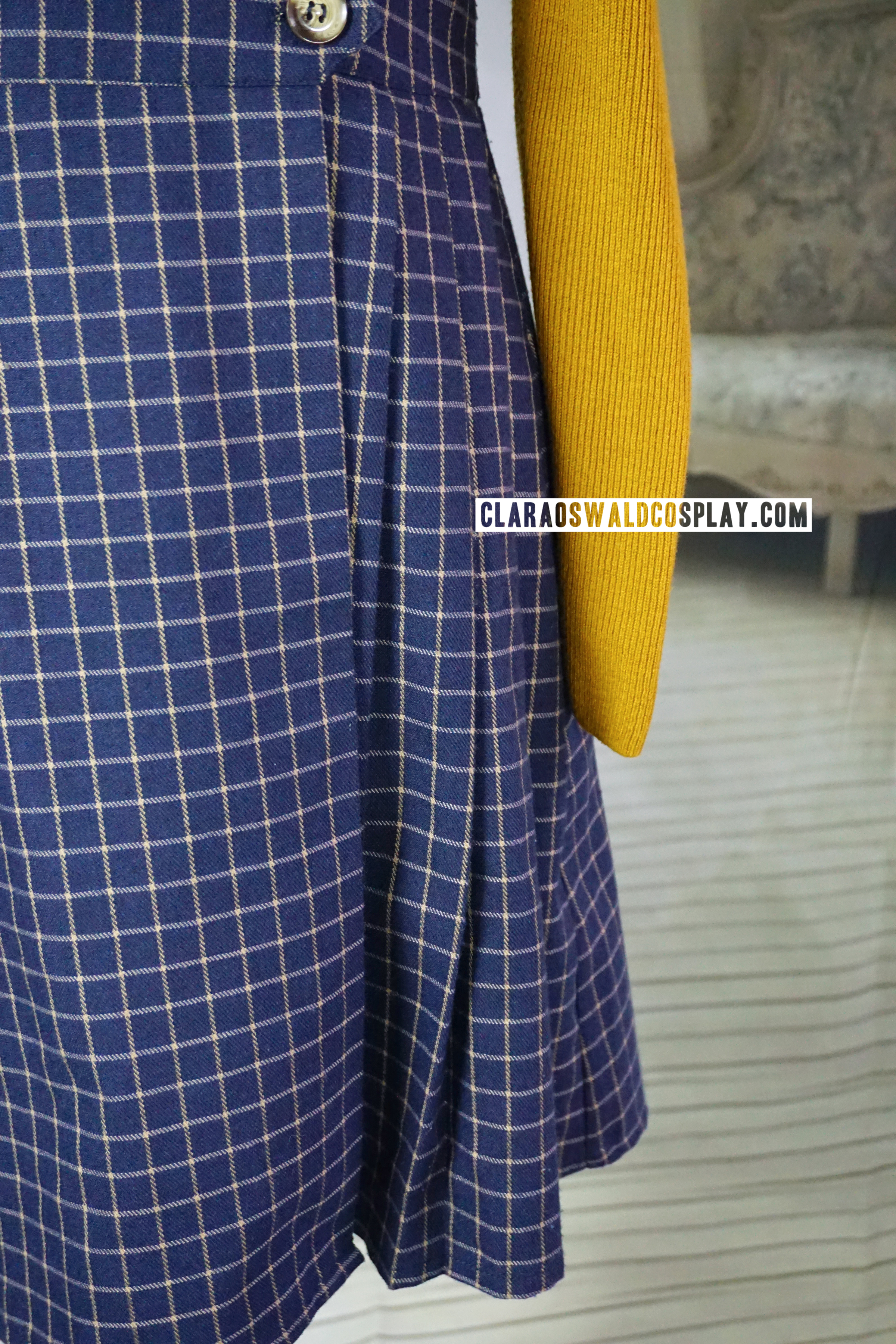 The Miss Patina Primrose Pinafore has some cute pleats